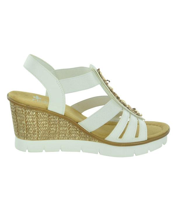 Rieker Rieker 65596 Women's Wedge Sandals