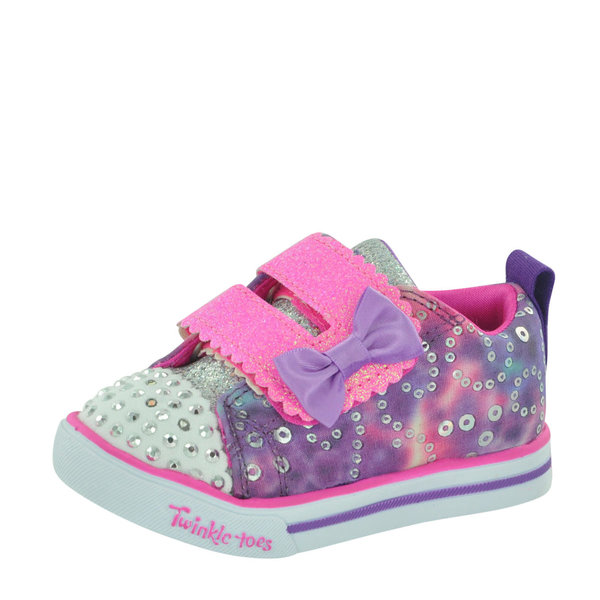 Skechers Kids Sparkle Lite - Rainbow Cuties 20147N