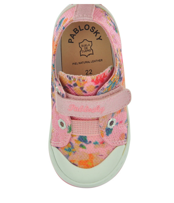 Pablosky Pablosky 9538 Girl's Canvas Shoes