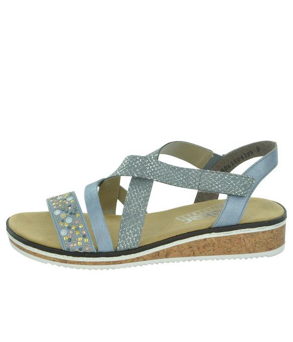 Rieker Rieker V3663 Women's Strappy Sandals