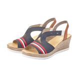 Rieker Rieker 619S6-14 Women's Wedge Sandals