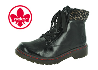 Rieker Y8212-01 Women's Ankle Boots