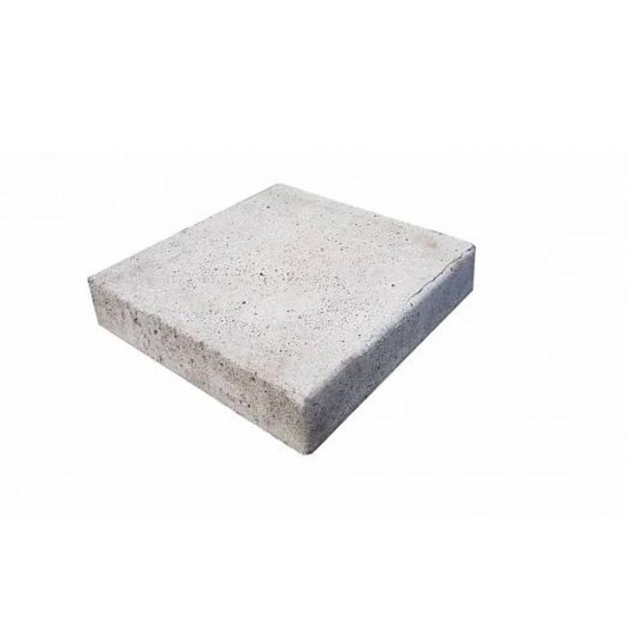 Funderingstegel gewapend beton - 40 x 40 x 8 cm