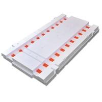 Pakket a 4 stuks Isobouw Powerkist Bodemplaat 35 cm breed (4,8 m1)