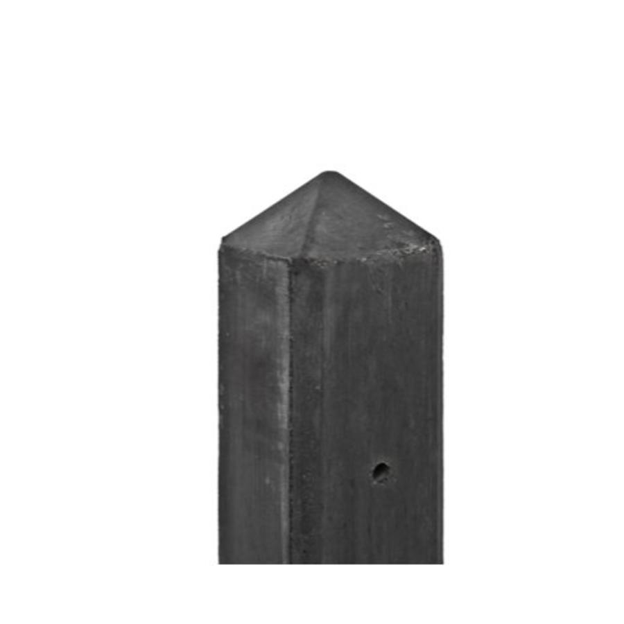 Betonpaal diamantkop 10 x 10 x 280 cm - Antraciet