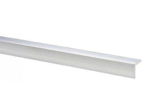 Aanslag t.b.v. tuindeur - Aluminium 2 x 2 x 200 cm