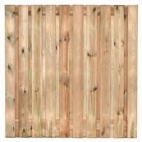 Tuinscherm geimpregneerd Enschede 180 x 180 cm  - 21 planks
