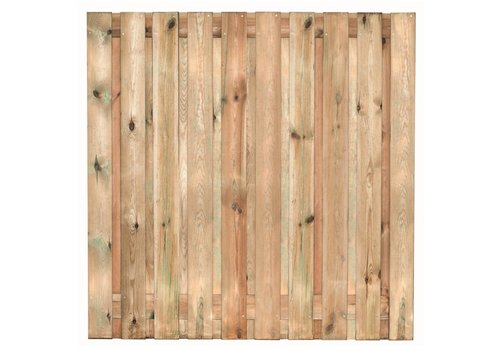 Tuinscherm geimpregneerd Enschede 180 x 180 cm  - 19 planks