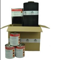 EPDM Dakpakket compleet - 375 cm breed (lengte naar keuze)