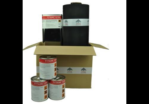 EPDM Dakpakket compleet - 450 cm breed (lengte naar keuze)