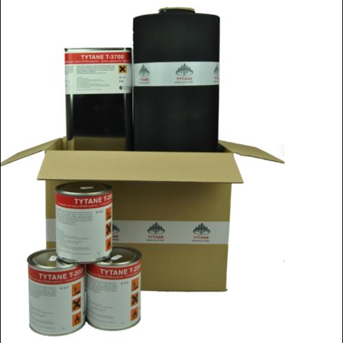 EPDM Dakpakket compleet - 600 cm breed (lengte naar keuze)