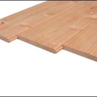 Douglas vellingdelen dakbeschot 1.8 x 19 cm
