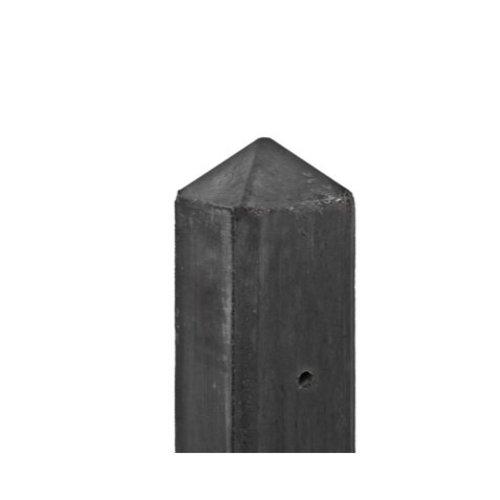 Betonpaal diamantkop 10 x 10 x 180 cm - Antraciet