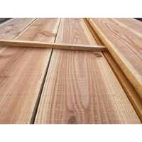 Lariks Douglas plank / Boeiplank  2,5 x 25 cm