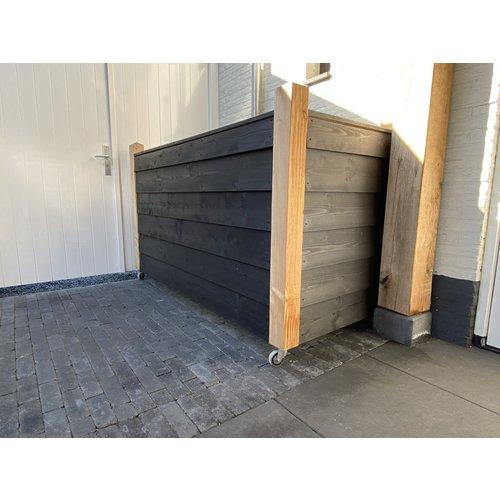 NE Vuren Zweeds Rabat 19,5 cm - 2 x Zwart Gecoat - Gedroogd