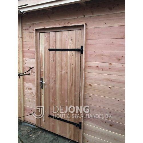 Beslagset enkele deuren incl. RVS cilinderslot
