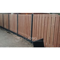 Lariks Douglas tuinscherm Zwarte Woud 180 x 180 - 21 planks