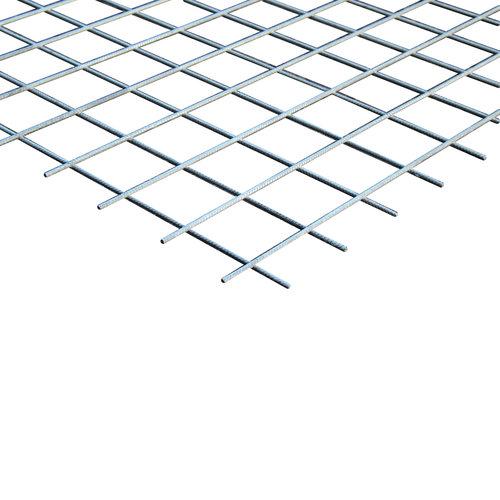 Bouwstaalmat PS130a Ø5-150 2 x 3 meter Gegalvaniseerd