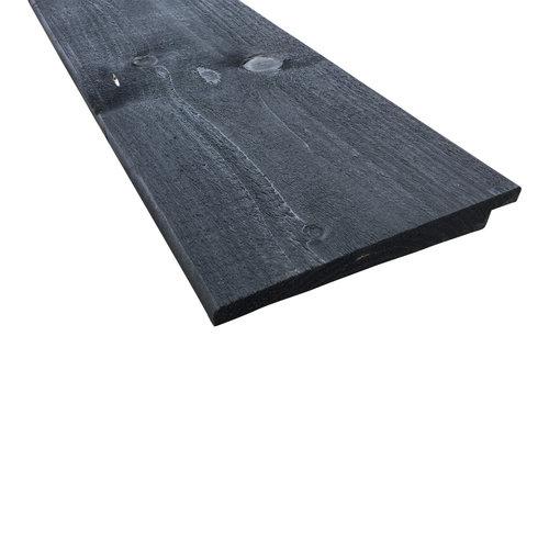 Zweeds Rabat Zwart GEÏMPREGNEERD 19.5 cm