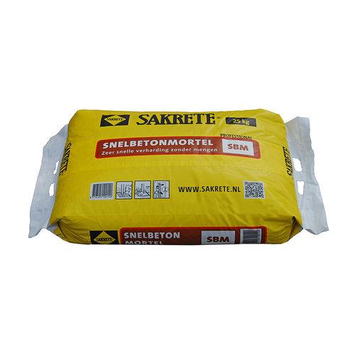 Speedmix snelbetonmortel in plastic zak 25 kg