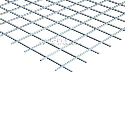 Bouwstaalmat PS503a Ø8-100 2 x 3 meter Gegalvaniseerd