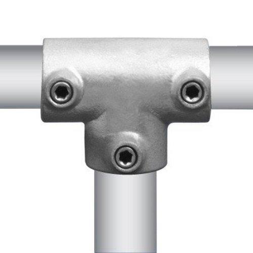 Buiskoppeling T-stuk lang Ø4,8 cm