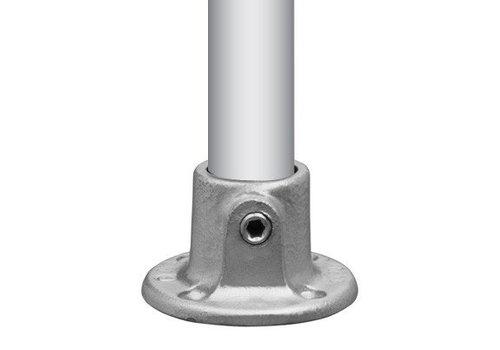 Buisklem voet- of wandplaat Ø4,8 cm
