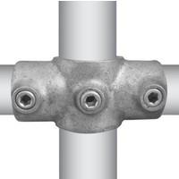 Buiskoppeling 2-weg 90 graden koppelstuk Ø4,8 cm