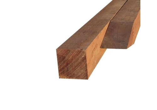 Hardhouten paal 6 x 6 x 300 cm - gezaagd FSC