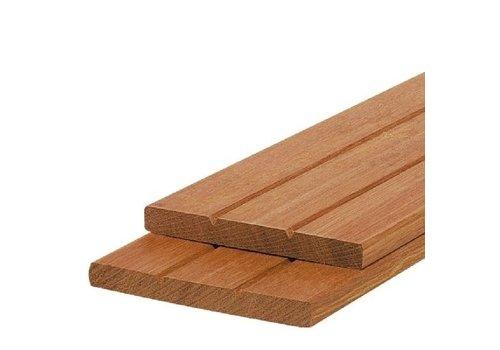 Hardhouten schuttingplank 14 x 305 cm