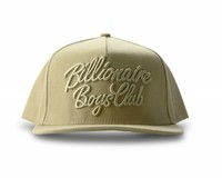 Billionaire Boys Club Script Logo Snapback Oxford Tan B16529