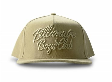 Billionaire Boys Club Script Logo Snapback Oxford Tan B16529