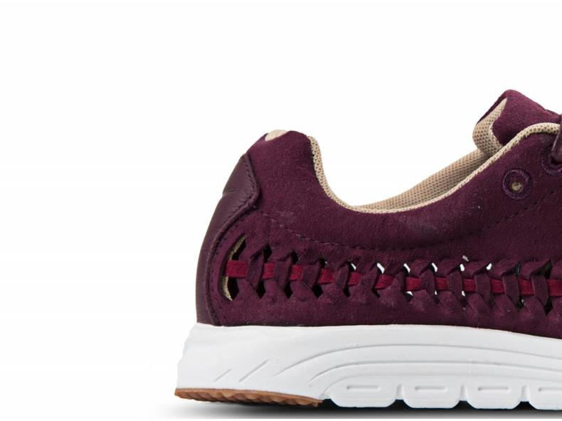682cba1aeb1576 Nike WMNS Mayfly Woven Night Maroon Noble Red Summit White 833802 ...