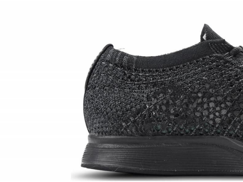 de0edfbb96f35a Nike Flyknit Racer Black Black Anthracite 526628 009 - Bruut Online ...
