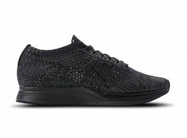 Nike Flyknit Racer Black Black Anthracite 526628 009