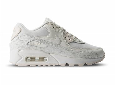 Nike Air Max 90 PRM LEA Sail Sail Light Bone White 904535 100