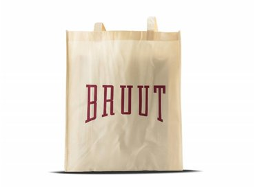 Bruut Exclusive Totebag Off White/Burgundy