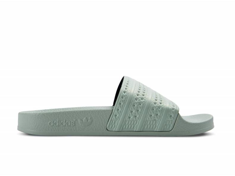207f2a3506234c Adidas Adilette Linen Green BA7540 - Bruut Online Shop   Sneakerstore