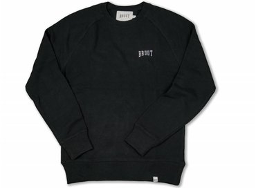 Bruut Crewneck Black White 1011