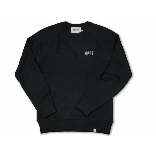 Crewneck Black White 1011