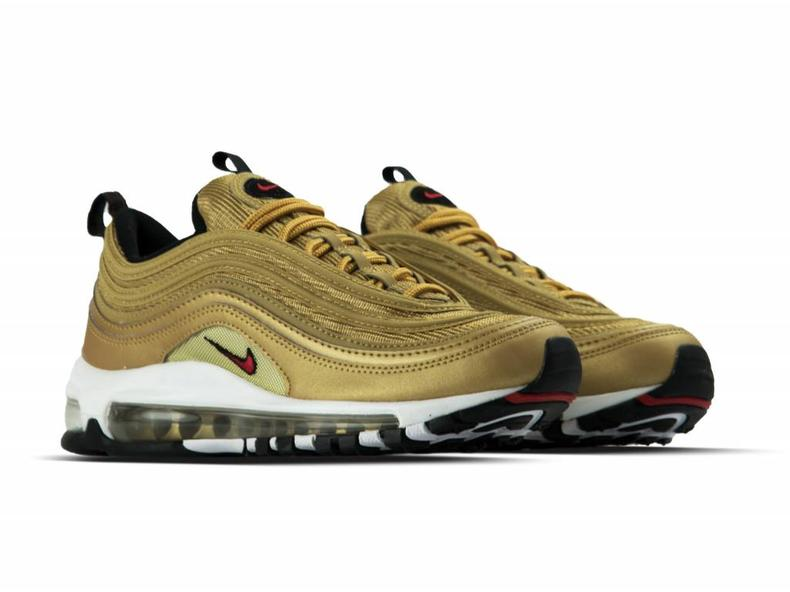 c5a0ee07b9b Nike Air Max 97 OG QS Metallic Gold Varsity Red 884421 700 - Bruut ...