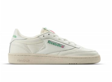 Reebok Club C 85 Vintage W Chalk Green White Red BS8242