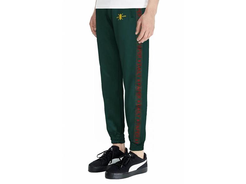 Green Tape Logo Track Pants NOSB05