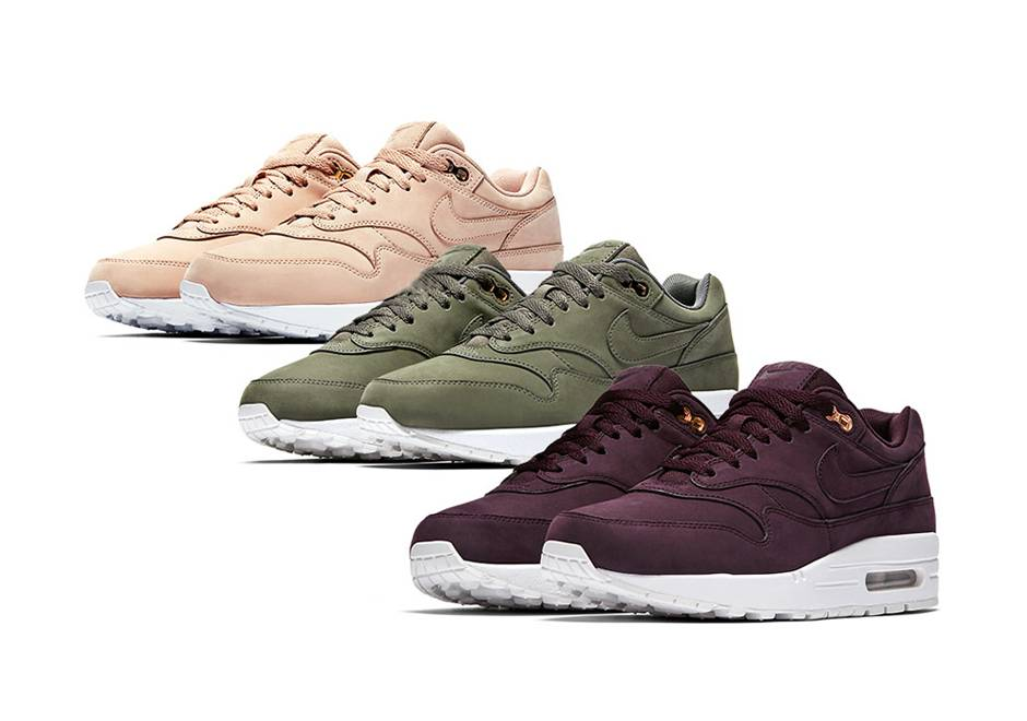 Nike Wmns Air Max 1 Premium River Rock River Rock White
