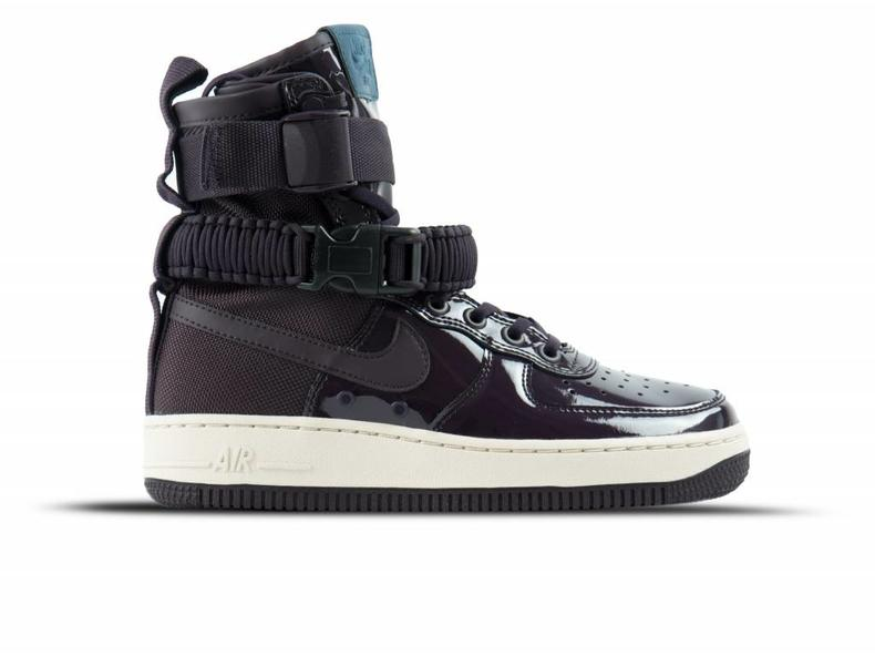 promo code bc60f 4dda3 SF Air Force 1 SE PRM Port Wine Space Blue AJ0963 600