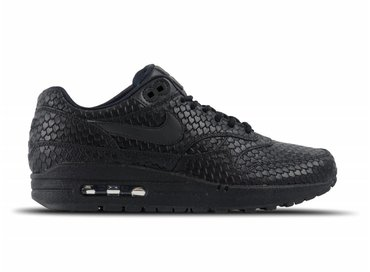 Nike Air Max 1 Premium Black Anthracite 454746 014