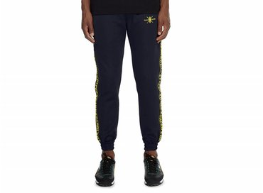 Daily Paper Navy Tape Logo Track Pants NOSB07