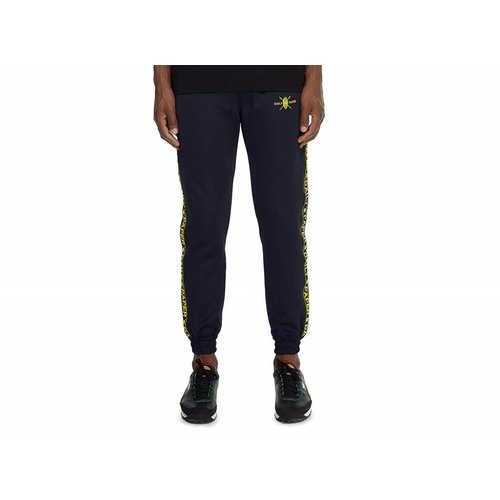Navy Tape Logo Track Pants NOSB07