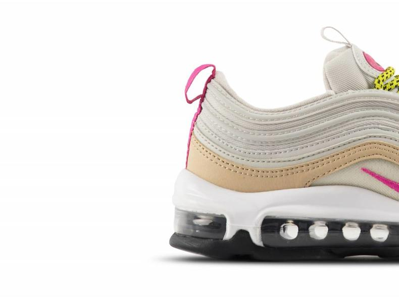 newest 27e1f 85726 Air Max 97 Light Bone Deadly Pink 921733 004