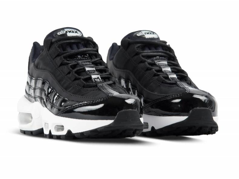 Wmns Air Max 95 SE PRM Black Reflect Silver Black AH8697 001